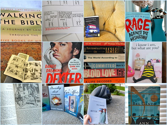 Recommended Reading Collage