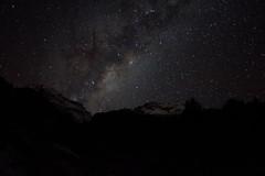 Vía láctea - Cajón del Maipo - Chile (Fabro - Max) Tags: chile snow mountains stars nieve galaxy andes cerros cordillera montañas milkyway cordilleradelosandes