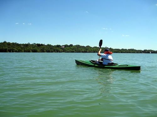 kayaking on lake harriet (183/365)