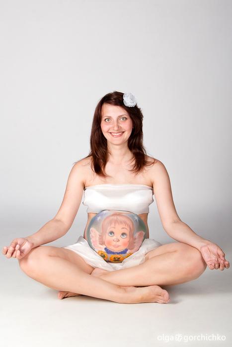 Фотосессия беременности Ани