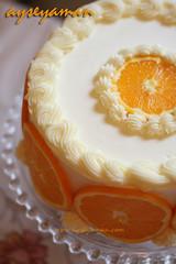 portakalli yas pasta