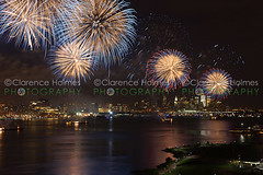 2011 Macy's Fourth of July Fireworks (cholmesphoto) Tags: newyorkcity people usa holiday newyork water skyline night america river person us unitedstates fireworks manhattan events unitedstatesofamerica nj social celebration event entertainment fourthofjuly northamerica