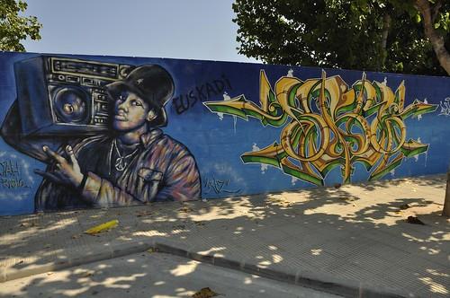 Graffitis en Mutxamel