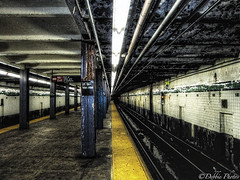 21 St-Van Alst Train Station (D. Photos) Tags: nyc steel traintracks platform lic subwaystation hdr gtrain debbiephotos 21stvanalststation 21ststreetsubwaystationlic vanalsttrainstation 21ststreetsubwaystation nycsubwaytrainstation desertedsubwaytrainstation nycdesertedsubwaytrainstation licsubwaytrainstation gtrainsubwaystation