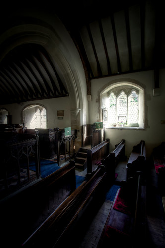 500/1000 - St Martins Church in Martinhoe by Mark Carline