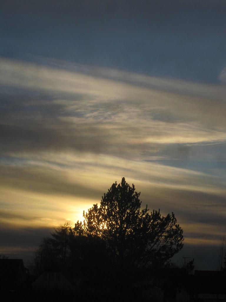 Sky Easter Evening 2012