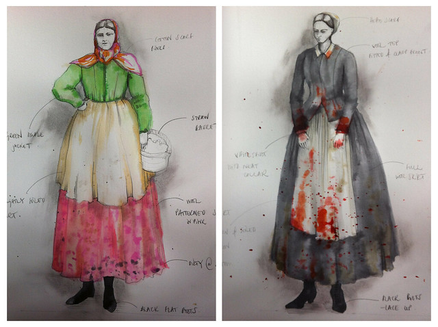 "Designs by Emma Bailey from Neil Hannon's Sevastopol - part of OperaShots.  <a href=""http://www.roh.org.uk/operashots"" rel=""nofollow"">www.roh.org.uk/operashots</a>"