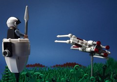 The Battle of Yavin IV (McCluckles) Tags: death star lego 4 wing run x wars episode yavin
