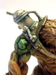 Rat Ogre Mechanics (Camper_Bob) Tags: painting miniature fantasy warhammer ratogre