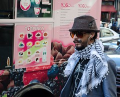 Distinguished mustache (Ji-) Tags: street new york city portrait nikon moustache mustache nikon1855mmf3556 d5100
