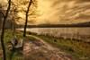 Garden of peace (Beukiegirl) Tags: sky sun nature bench natuur bank lucht landschap zwarte woud yahoo:yourpictures=nature