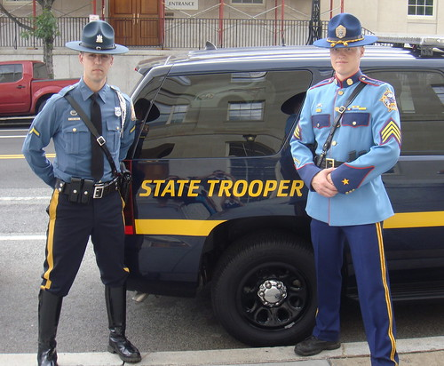 Delaware State Police & Alaska State Police - a photo on