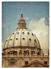 St. Peter's Basilica (Powder Hunter) Tags: vatican rome church vintage catholic basilica faith christian christianity catholicism stpeter vaticancity christendom laterenaissance snapseed