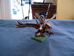 High Elves, Eltharion the Grim on his Griffon Stormwing (Godders11) Tags: citadel warhammer elves griffon gamesworkshop highelves eltharion