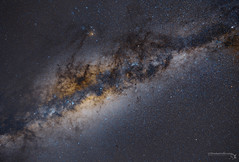 Our Galaxy Core (TheAstroShake) Tags: canon desert space galaxy astrophotography 5d astronomy core milkyway karoo