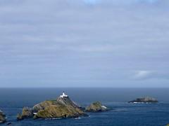 Muckle Flugga lighthouse (ghostwheel_in_shadow) Tags: cliff lighthouse warning scotland europe unitedkingdom safety shetland disasteraccidentandemergency
