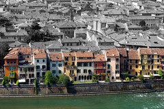 Verona - fiume Adige (Guido Havelaar) Tags: italia verona veneto italiaturismo sonydscrx100