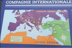 2014.05.22.013 PARIS IMA - Expo Orient Express - carte des parcourts (alainmichot93 (BONJOUR)) Tags: paris france seine train exposition iledefrance institutdumondearabe ima 2014 artdco lorientexpress paris5mearrondissement
