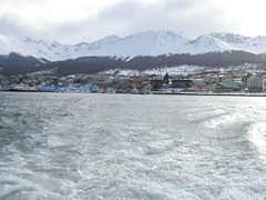 Beagle Canal Looking Towards Ushuaia