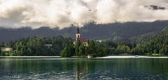 Bled (Slovenia) (matej.kekic) Tags: lake bled nature church