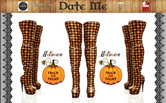 Date Me Halloween High boots Crazy Witch adv (maus.megadon) Tags: belleza maitreya secondlife style fashion freya isis venus slim classic avatar fitmesh halloween overknees boots young trend design high quality 3d sexy