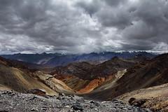 ... (Alubhai) Tags: canoneos60d canonef1740f40l himachalpradesh himalayas india parangla mountainpasses 5600m clouds hillsandvalley rollinghills landscape paranglatsomoriritrek2016 alubhai