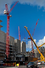 _DSC9229 copy (NRM the 2nd) Tags: htcwolffkran wolffkran 355b 500b ainscough liebherrltm1750 goldmansachs london cityoflondon construction 2016