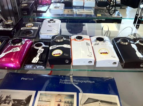 Flip Cameras in an OKC Pawn Shop