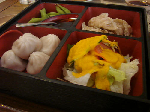 Dumpling Lunch Box Radiance Tea House