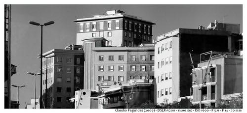 """Barcelona: perfil de construção by Claudio """"CAlex"""" Fagundes"""