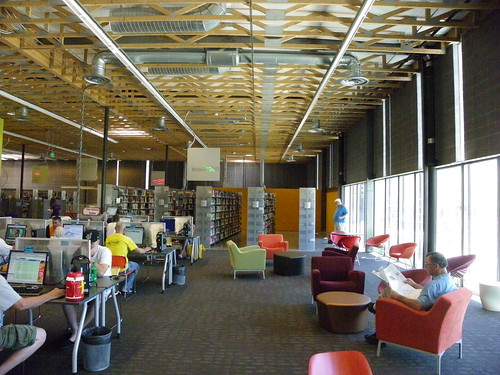 Looking through the library - Agave Library