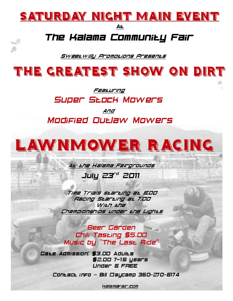 lawnmower Saturday Night Main Event