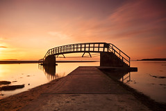 Belhaven Bay Sunset - Explored #15