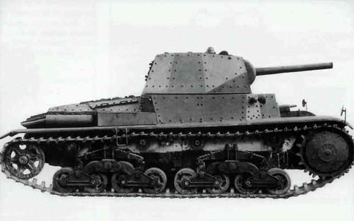 Arme Prototype p26/40 (prototype) armé du canon 75/32 - a photo on flickriver