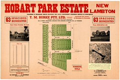 M1603 - Hobart Park Estate Subdivison Plan, New Lambton [n.d.] (Cultural Collections, University of Newcastle) Tags: newcastle plan australia nsw newsouthwales dukestreet kentstreet hunterregion homesites newlambton landsales monashroad hobartpark turnbullstreet hobartroad marinaavenue subdivisionplans torrenstitle hobartparkestate tmburke aarankinco northumberlandpermanentbuildinginvestmentlandandloansociety