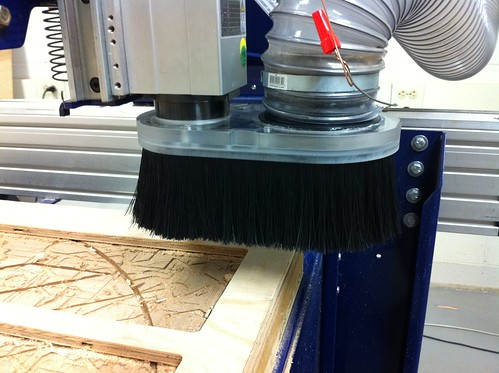 New dust collection for cnc MAGNETS