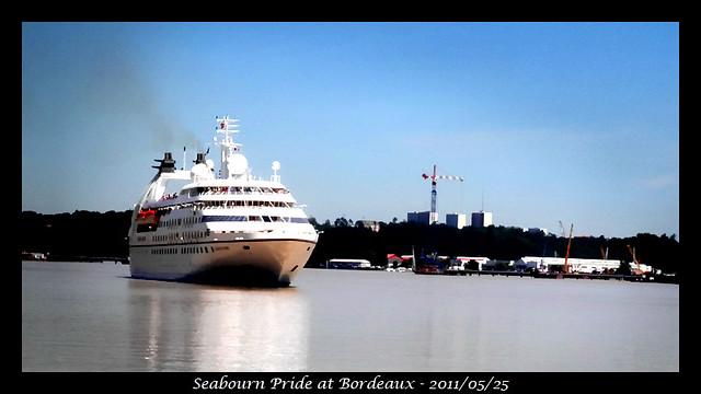 Seabourn Pride at Bordeaux