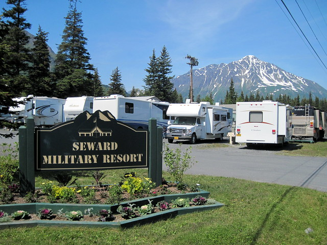 RVs at Seward Resort 20110624