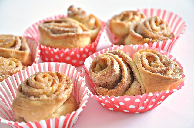 Pizza dough cinnamon rolls
