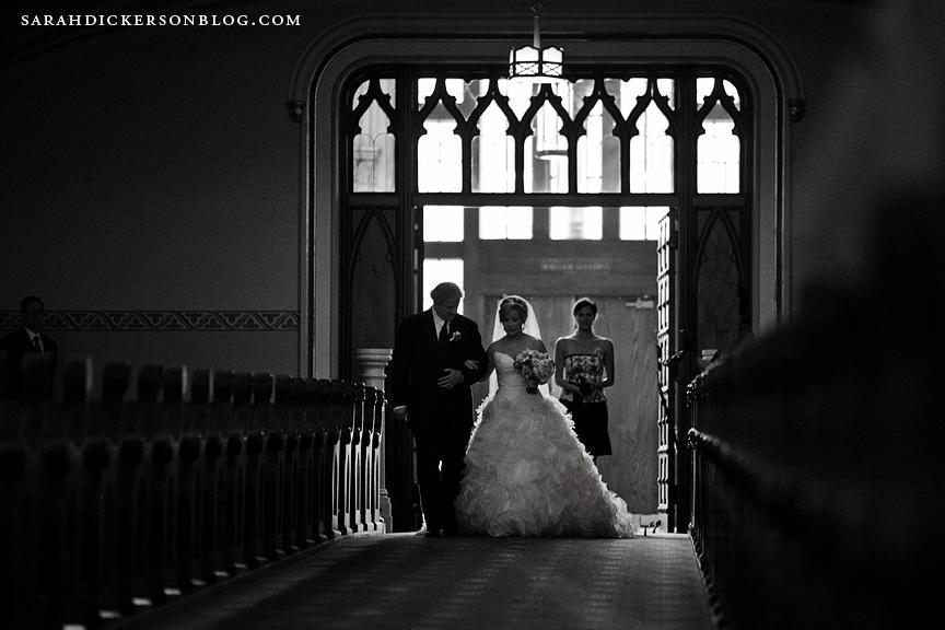 Kansas City Redemptorist wedding photographs