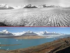 Ледяное поле в Патагонии, Южная Америка