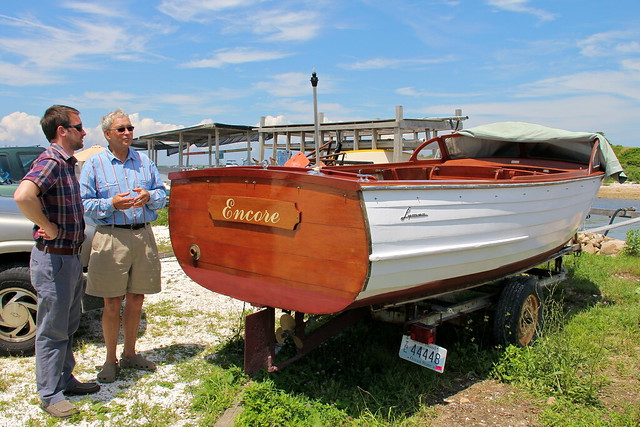 Uncle John and his boat, Block island, RI
