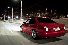 City Lights | J. Jungco | JESTER (Jester Jungco) Tags: bridge red lights losangeles turbo rolling 6th e34 525i