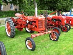 McCormick Farmall C tractor (Davydutchy) Tags: show netherlands car classiccar meeting otto juli friesland farmall ih mccormick frysln 2011 stnicolaasga stnyk