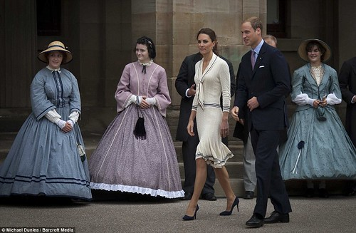 Kate Middleton of Green Gables Duchess of Cambridge's joy as she steps back in time to home of her favourite novel 10