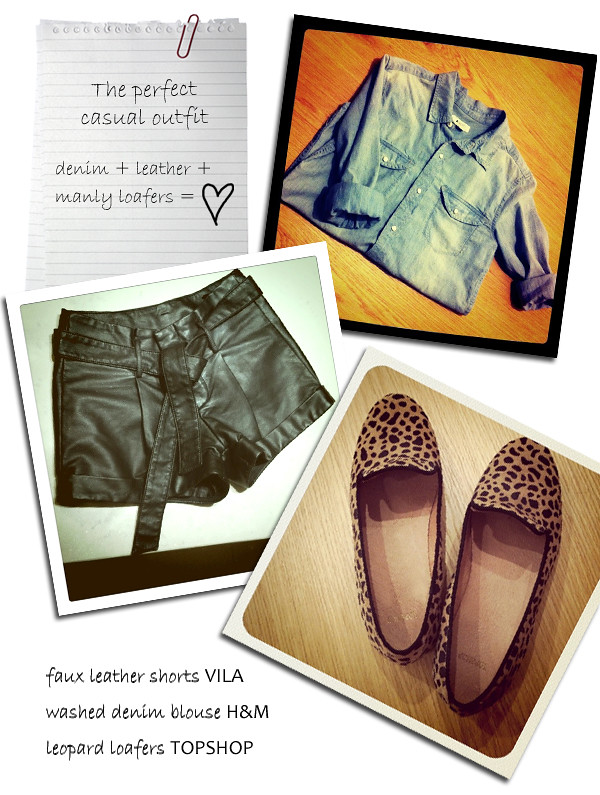 denim_blouse_leopard_loafers