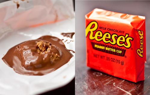 Reese's looks like poop
