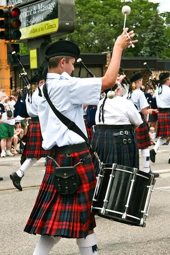 Scottish Drummers