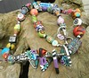long long necklace (greti53) Tags: polymerclay fimo schmuck necklaces ketten