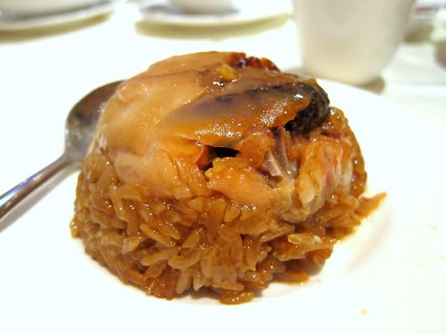 Malaysian Lo Mai Kai (Glutinous Rice with Chicken)